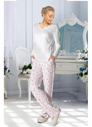 Doremi Pijama Takım Ekru